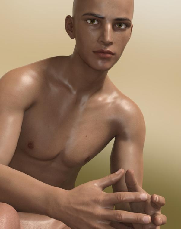 การพัฒนาตัวละคร 3 มิติสำหรับเกมผู้ชาย