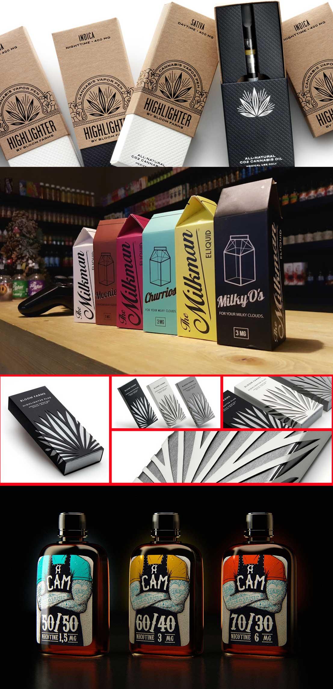 Дизайн упаковки для вейпа