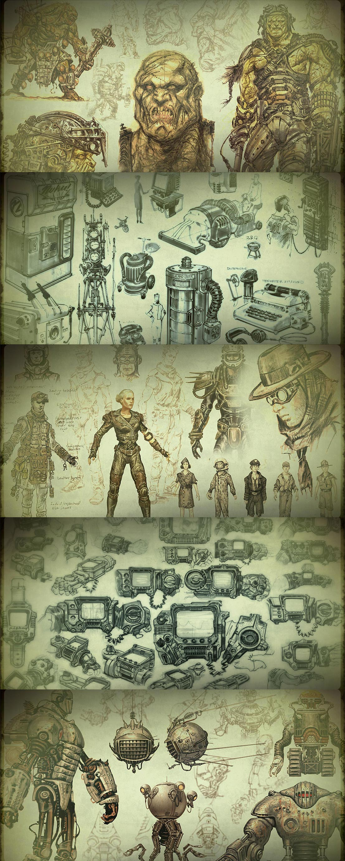 تطوير شخصيات 2D و 3D