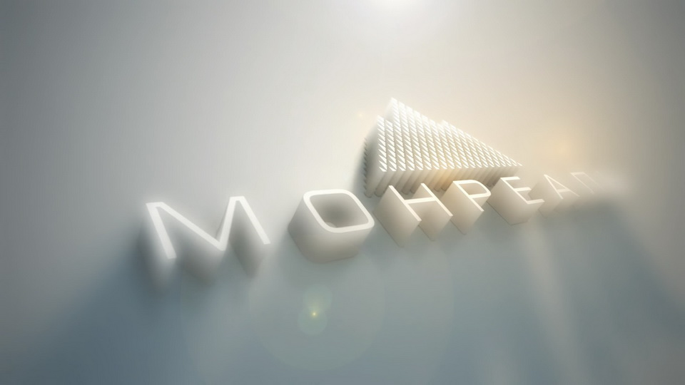 Видео заставка анимация логотипа