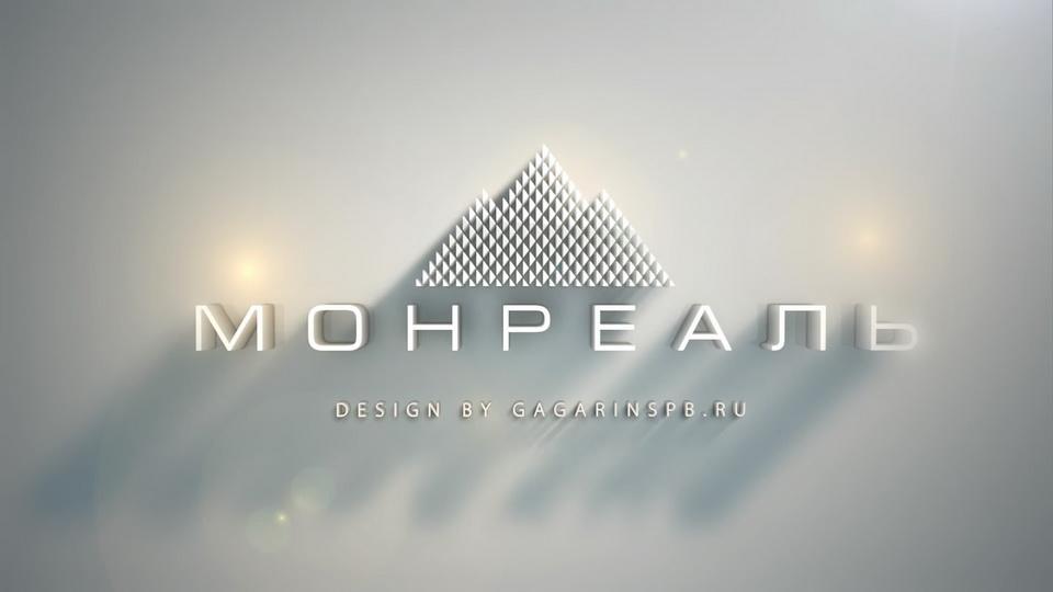 فيديو شاشة شعار الرسوم المتحركة