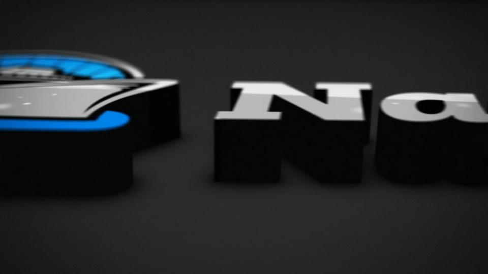 شعار الرسوم المتحركة شاشة فيديو 3D