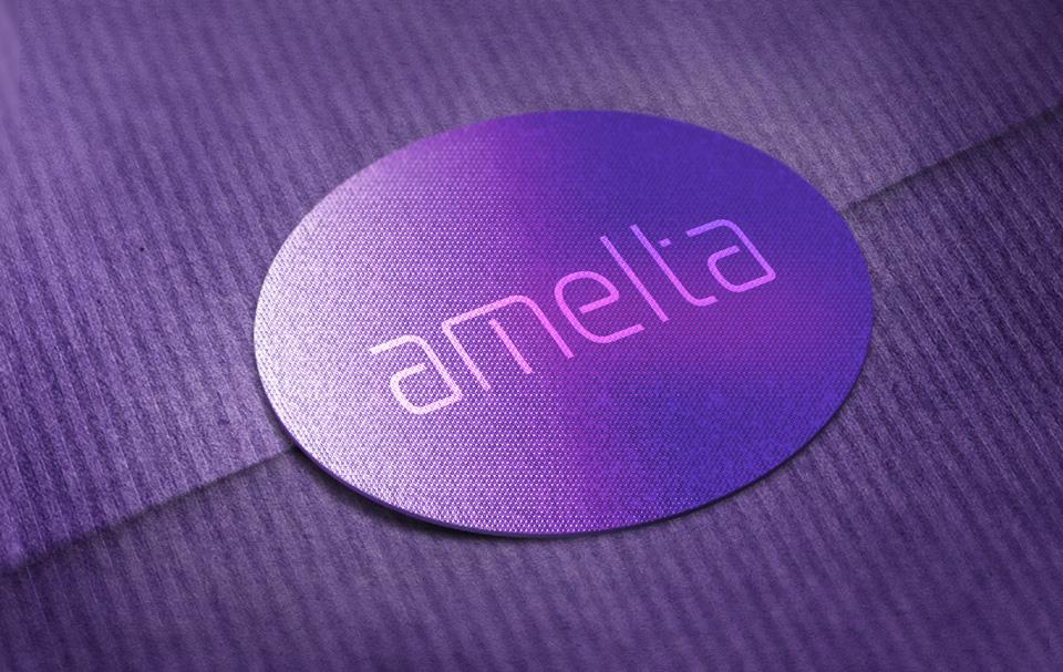 شعار الإضاءة LED AMELTA
