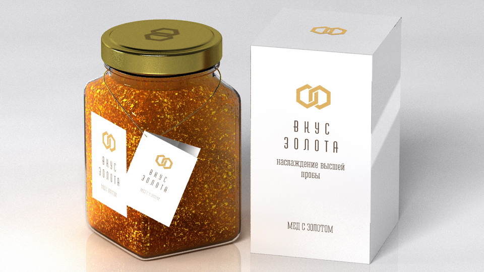 Packaging, taste of Gold
