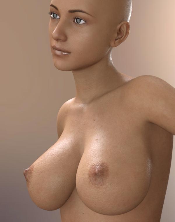 moteriška plika krūtis
