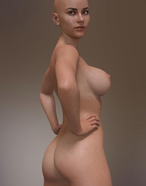 امرأة عارية