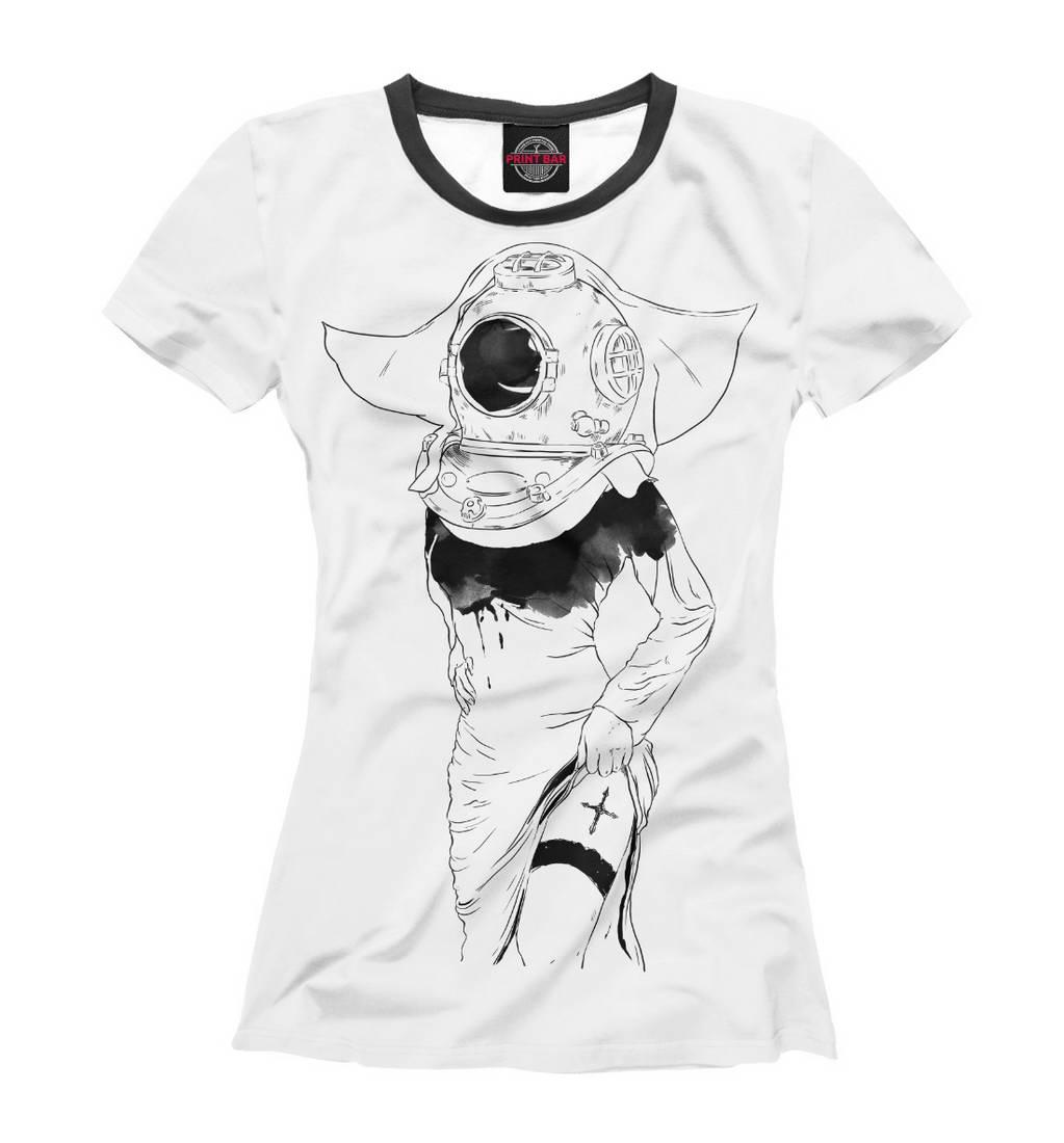 ქალის ბეჭდური მაისური
