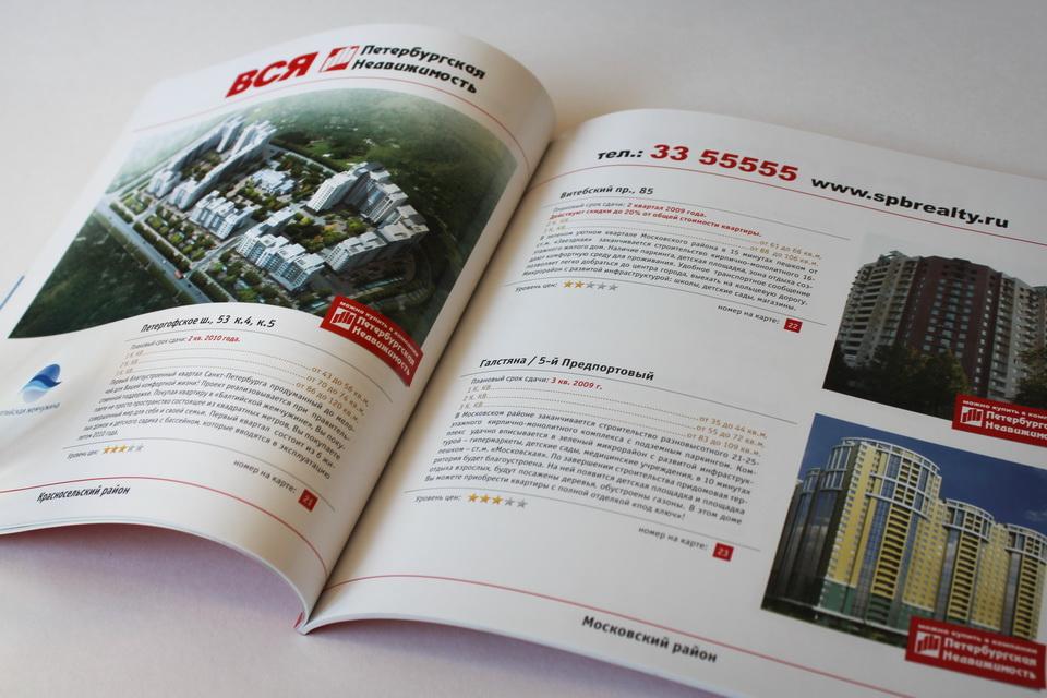 Каталог Вся Петербургская Недвижимость