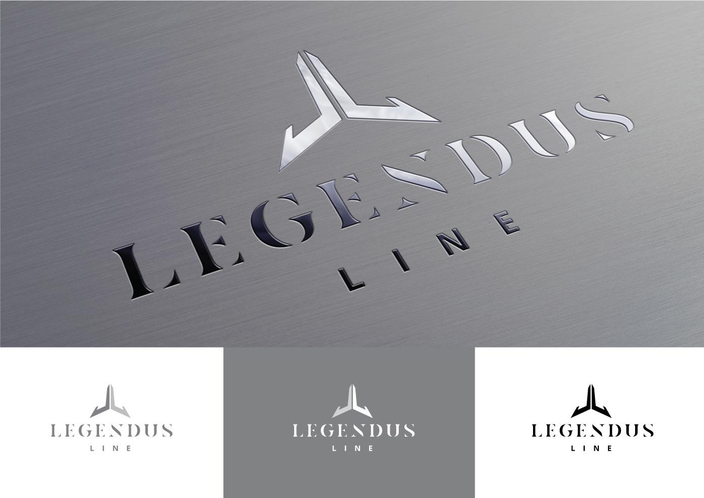 Логотип для линии по производству лаваша LEGENDUS