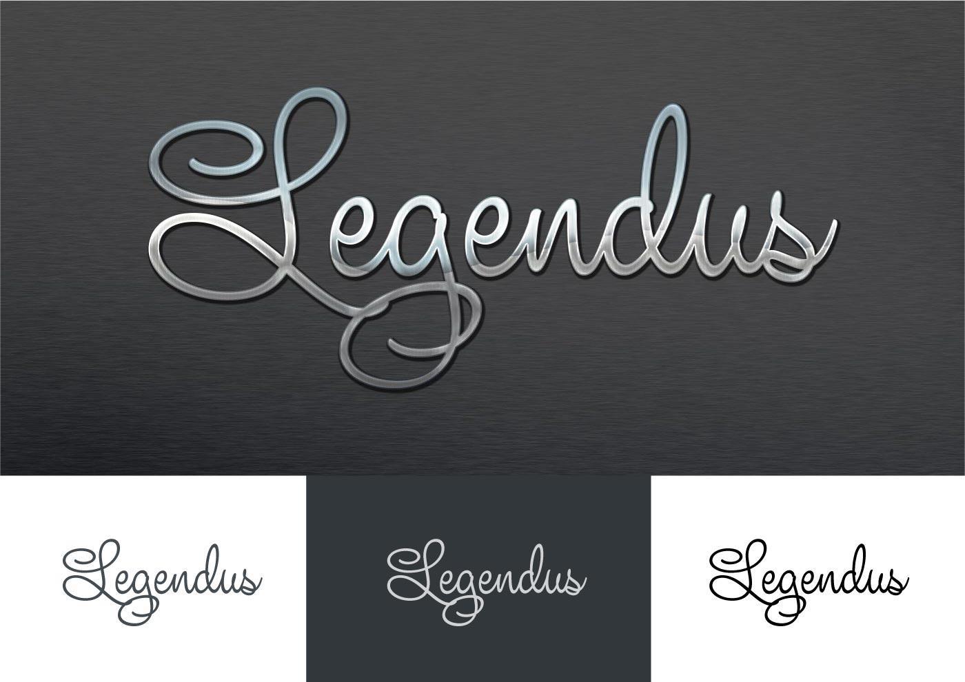الطباعة LEGENDUS تطوير الشعار