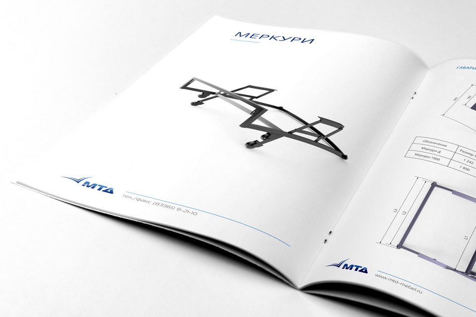 Catalog, brochure, booklet, MTD, Mechanisms of transformation of sofas