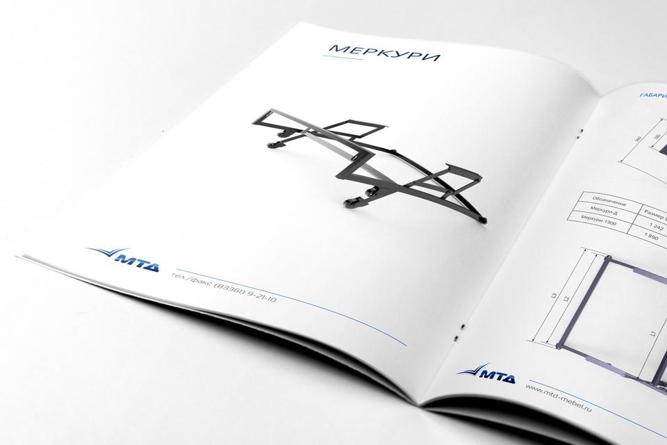 Каталог, брошюра, буклет, МТД, Механизмы трансформации диванов