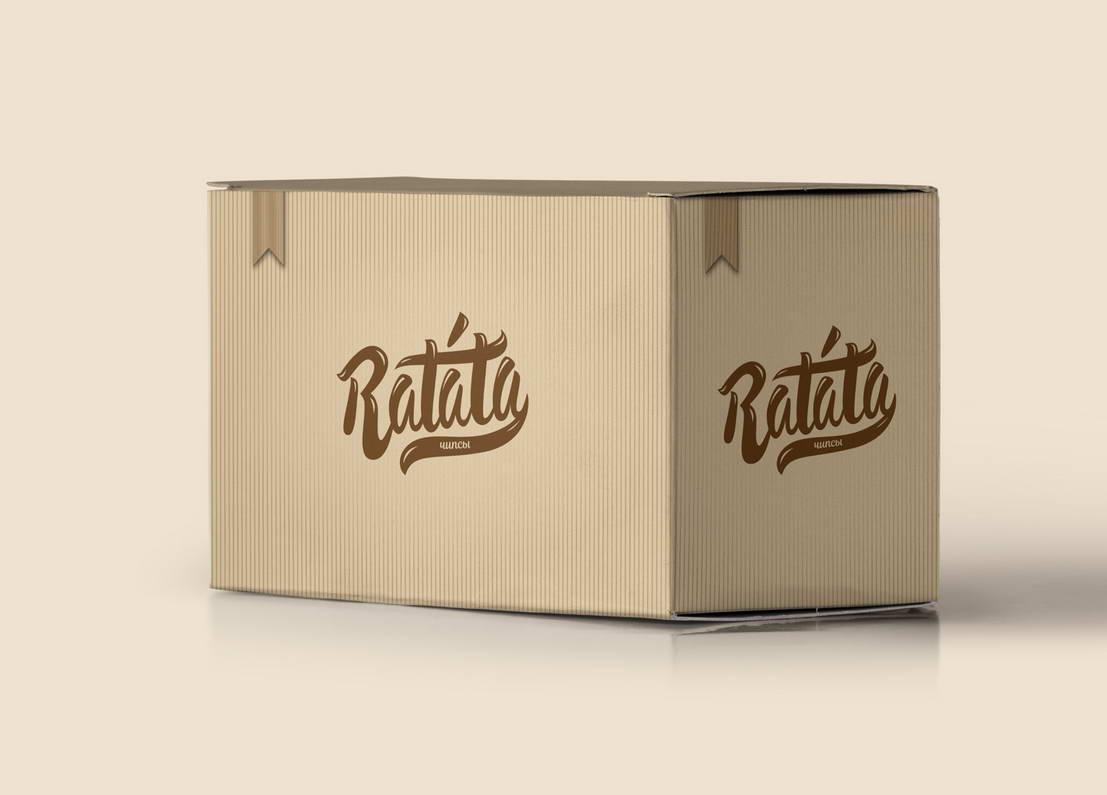 Разработка коробки для упаковок с чипсами.