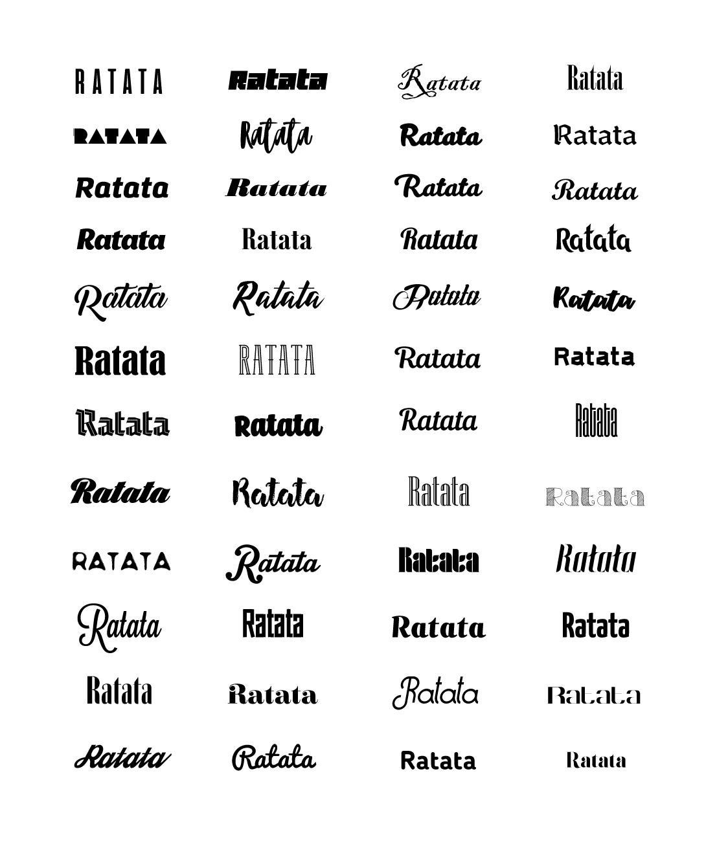 Подбор шрифтов для продуктов