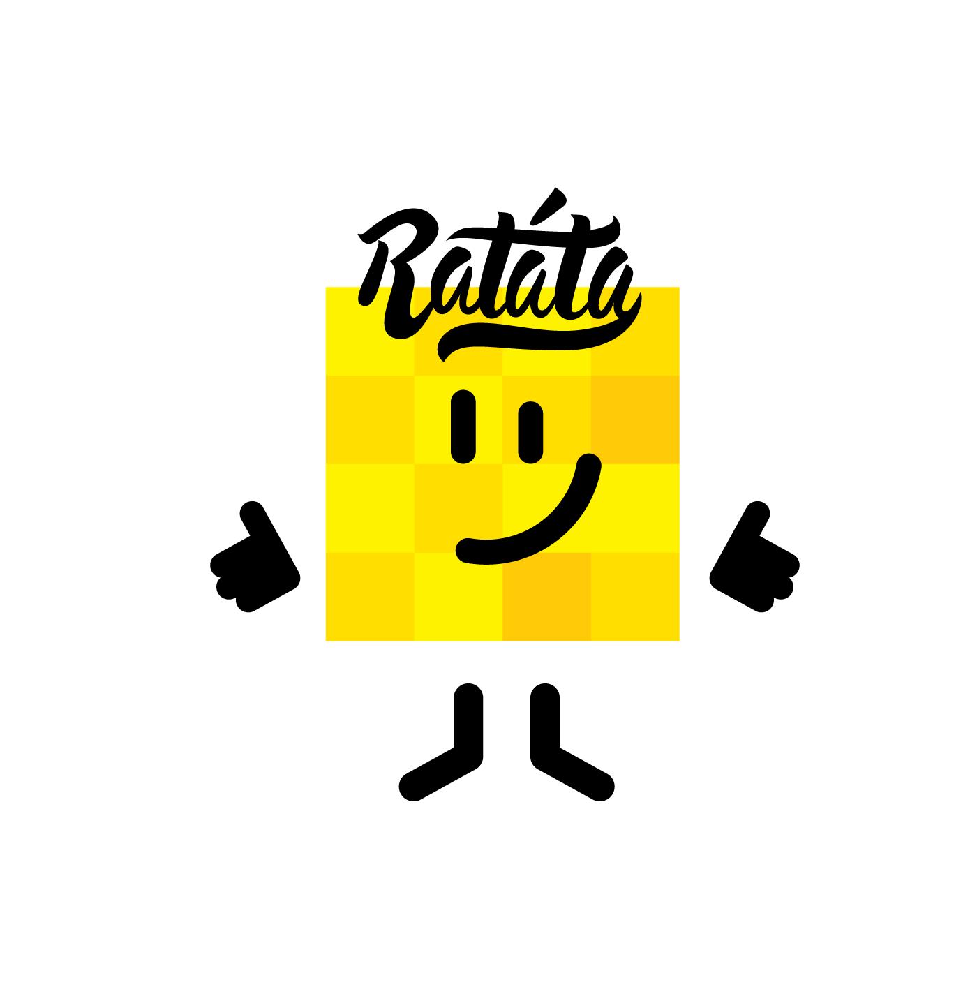 Oprettelse af en brand tegn Ratata
