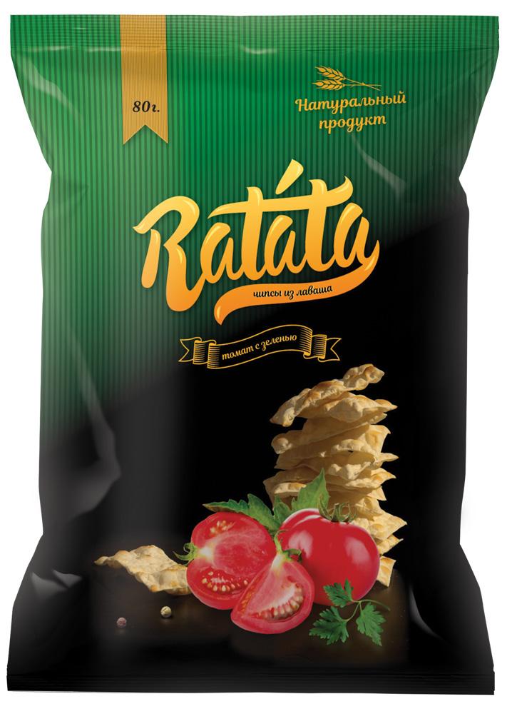 lína pakki hönnun franskar Ratata