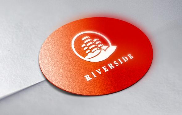 Знак логотип жилого комплекса строительной компании