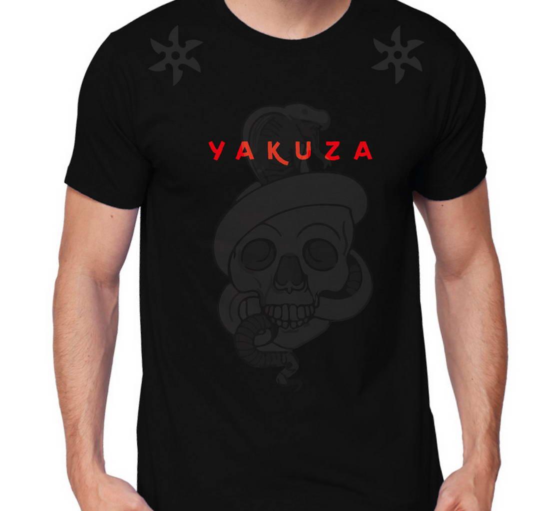 Якудза дизайн футболки