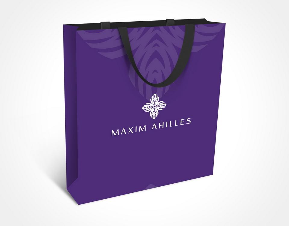 paket, celostne grafične podobe, slikar, Maxim Achilles