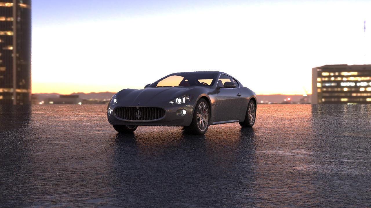3d анимация автомобиля