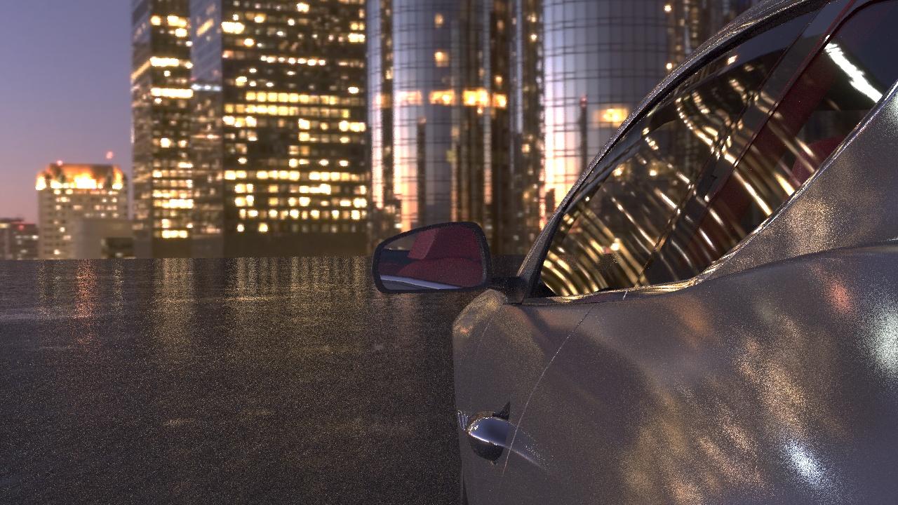 3д анимация машины
