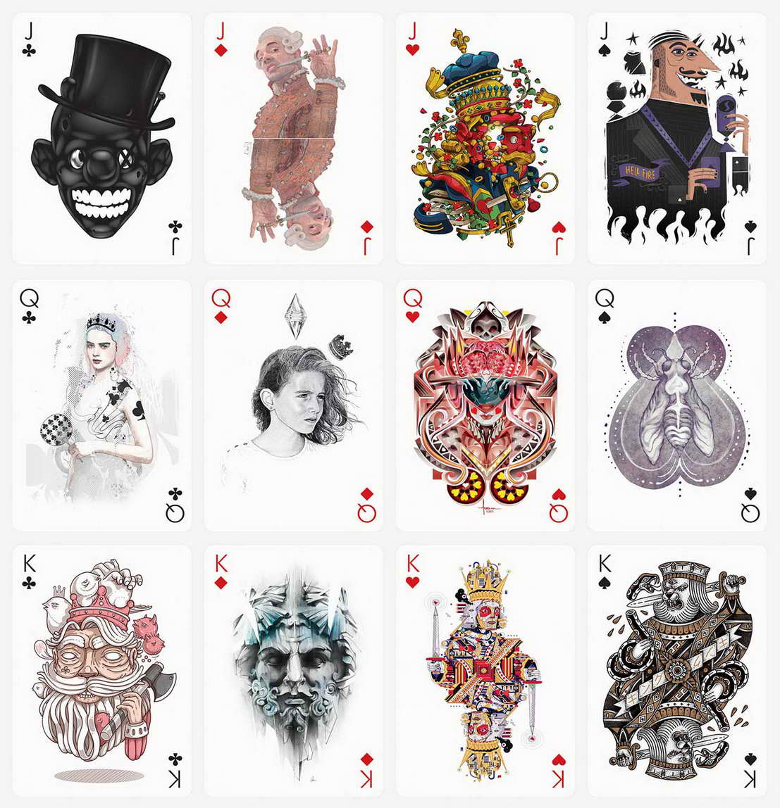 Development of playing cards