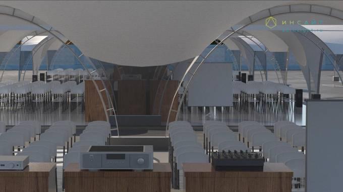 3د نموذجا للخيمة