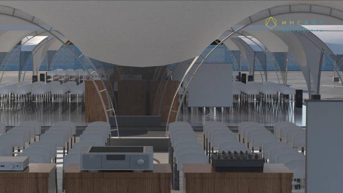3d модель шатра