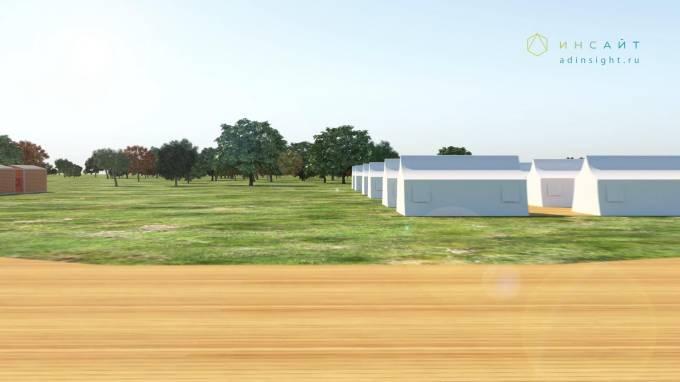 3d модель модулей и палаток