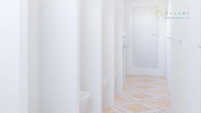 3d модель туалета