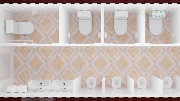 3د نموذجا للمرحاض