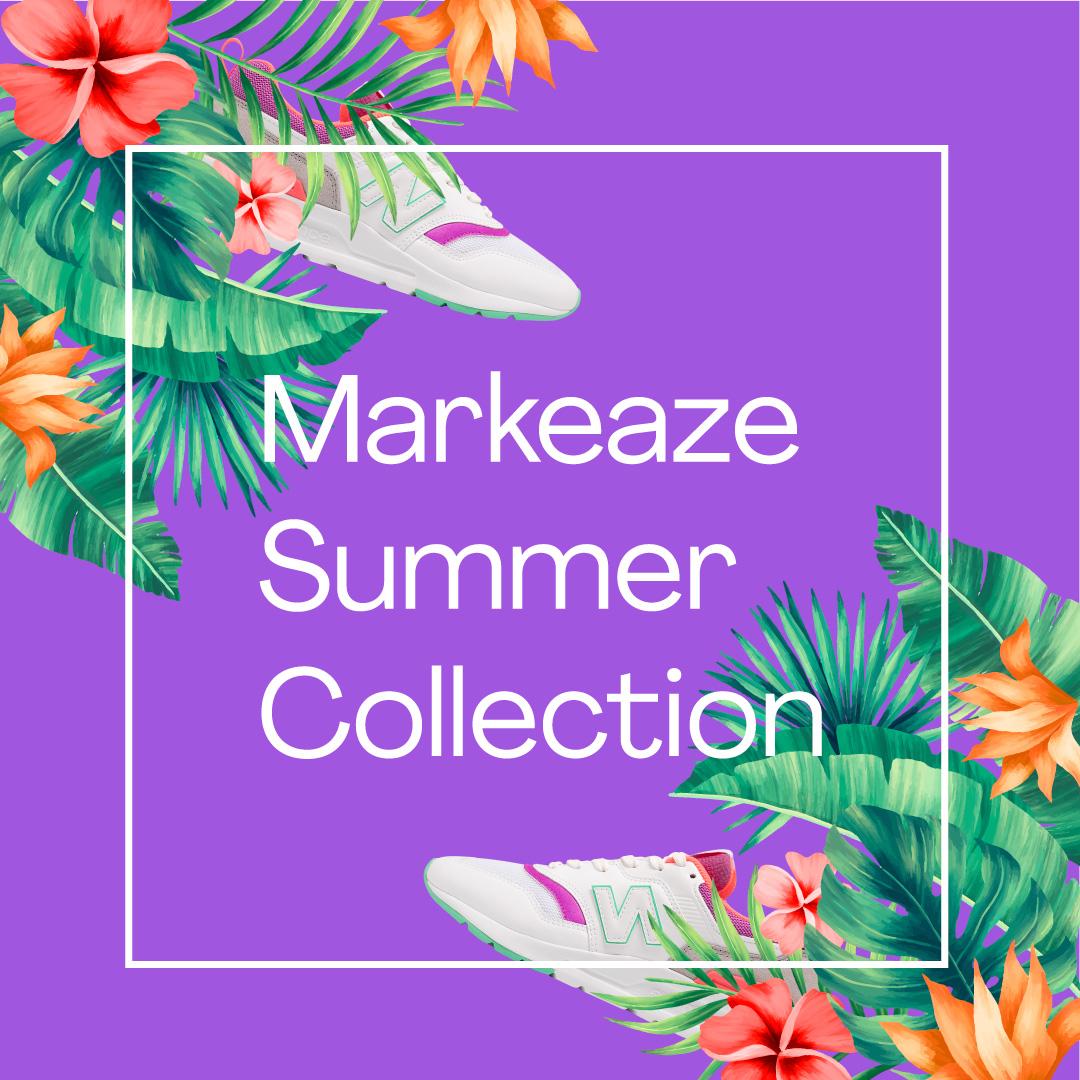 Diseño de publicidad de banner de Facebook Markeaze