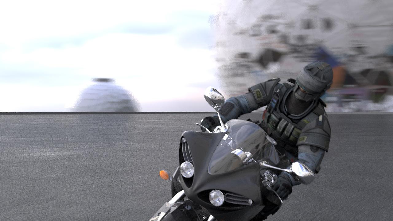 motorcykel animation