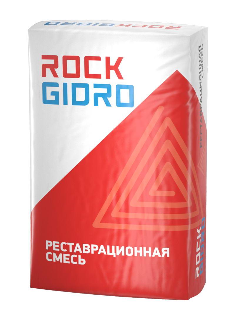 линија дизајн паковања грађевинског материјала РоцкГидро