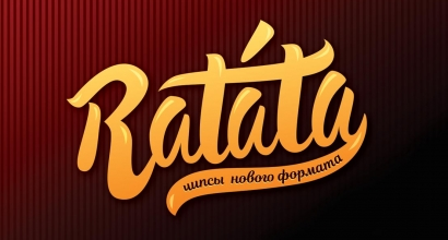 appellation, slogan, logo, puces de conception ligne d'emballage Ratata